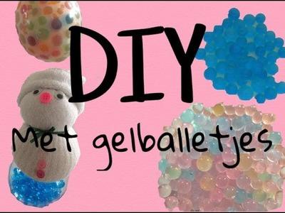 DIY met gelballetjes.orbeez