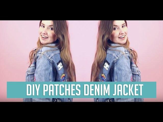 DIY Patches Denim Jacket