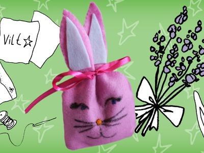 Jill - DIY Geurzakje in konijnenvorm maken (een geurkonijn!)