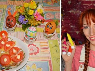 DIY: Simpele ideeën voor paas.lente ontbijt!