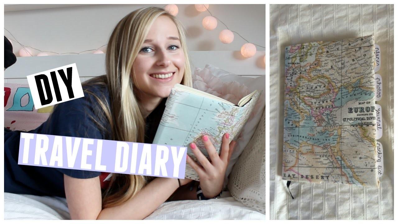 DIY Travel Diary ♥ MADEBYNoelle