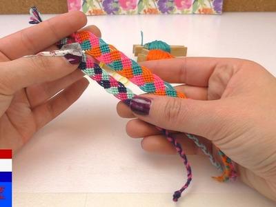 DIY vriendschapsarmband knopen | zelf armband met vlechtwerk knopen | cadeau voor vrienden
