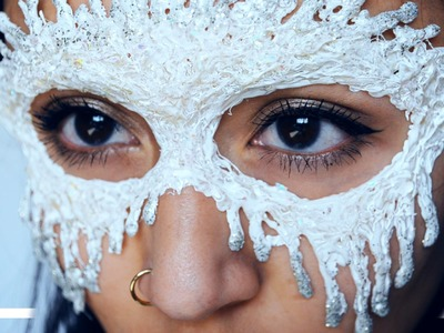 Masker maken met lijmpistool DIY - ShelingKamkes