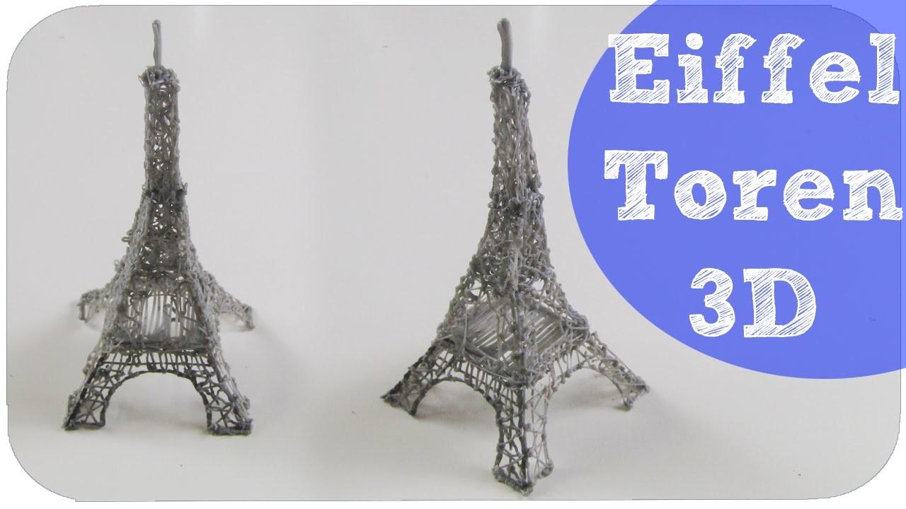 3D Pen EIFFELTOREN | How to Make
