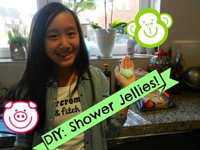 DIY (Lush) Shower jellies