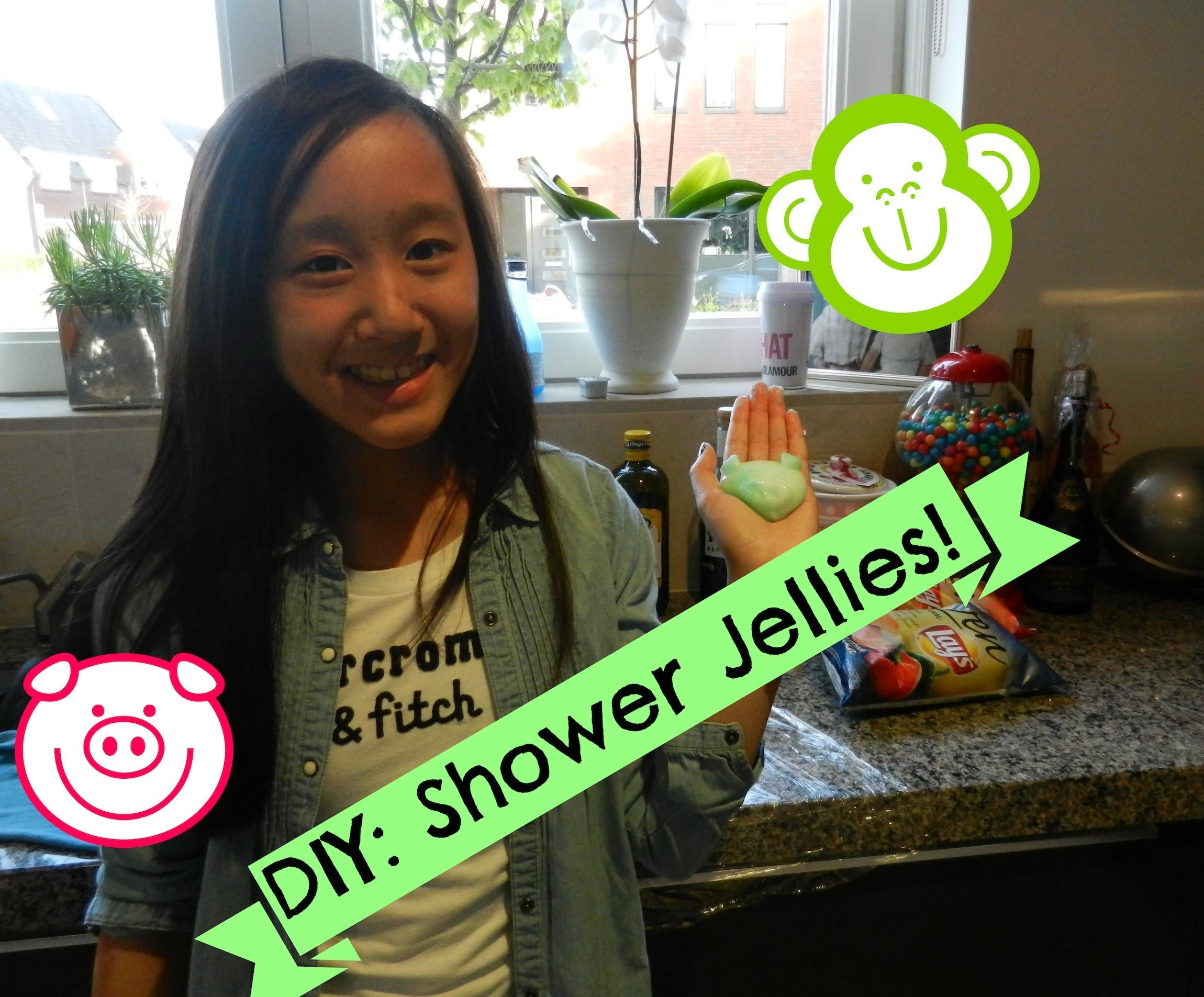 DIY (Lush) Shower jellies