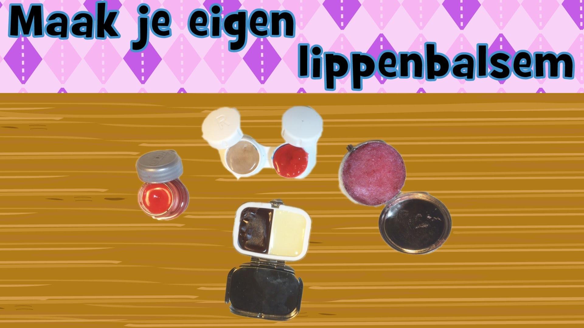 DIY Maak je eigen lippenbalsem. lipgloss van Vaseline en honing