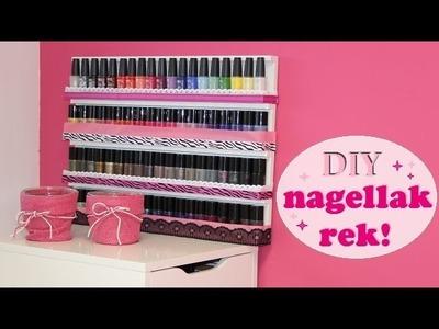 DIY nagellak rek | beautynailsfun.nl