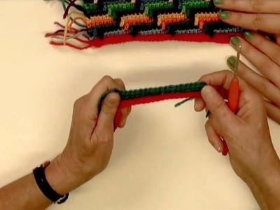 Doe inspiratie op met gehaakt Navajo tasje van HobbyHandig