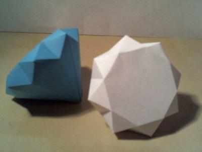 How to: Easy 3D Diamond. Makkelijke 3D Diamant