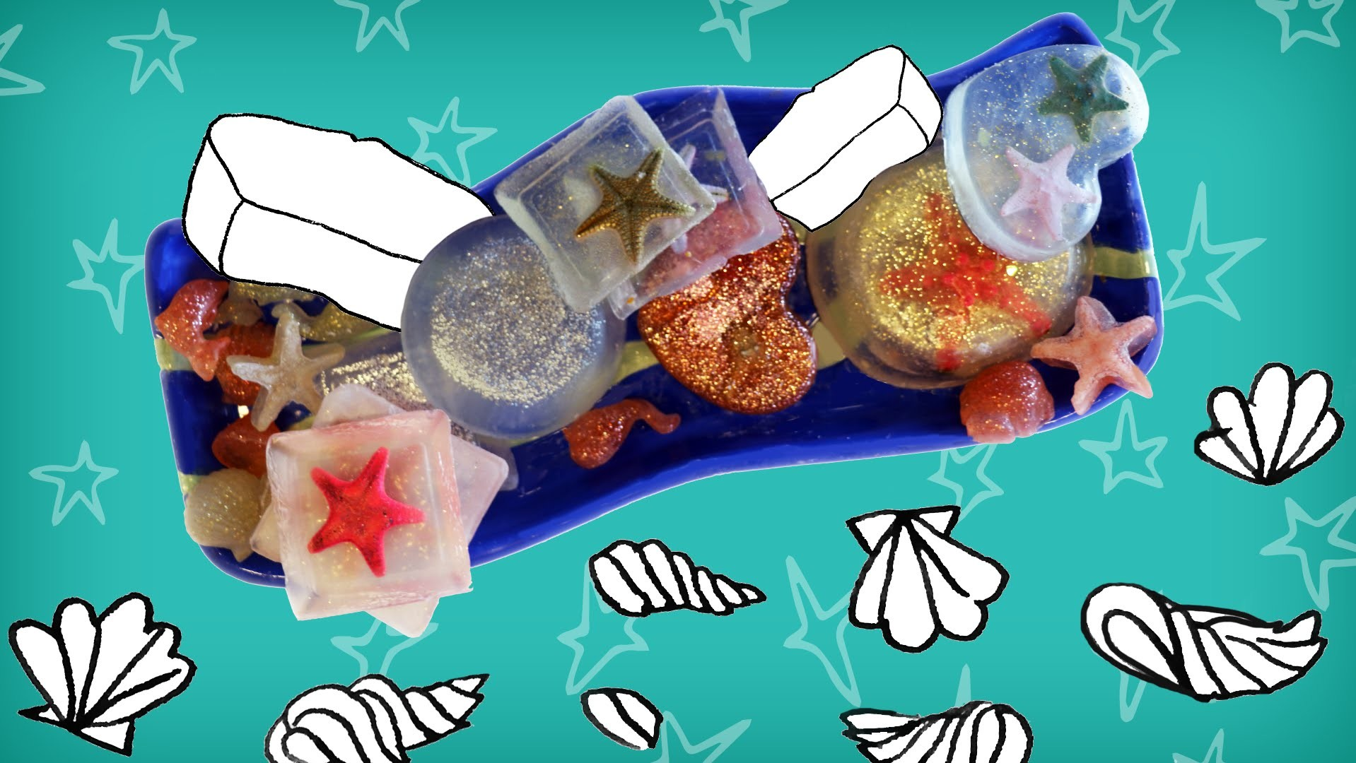 Jill - DIY: Maak je eigen zeepjes met een zeester erin!