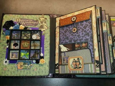 Scrapbook Mini Album Halloween in Won