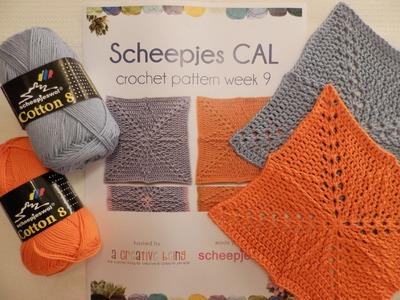 Week 9 Scheepjes CAL 2014 - Nederlands. Dutch