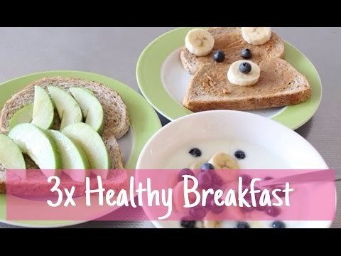 €3 challenge : DIY 3x Healthy breakfast