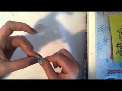 Anouk DIY kranten nagels