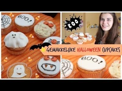 DIY: 10 gemakkelijke halloween cupcakes!