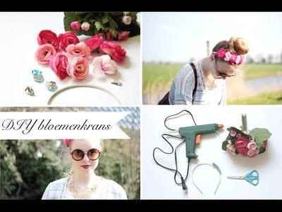 DIY. bloemenband