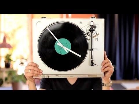 DIY: Platendraaier klok | SPLINTERNET