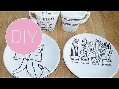 DIY porselein versieren