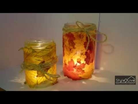 Style2Live DIY 1: Een sfeervolle Do-It-Yourself voor de herfst!