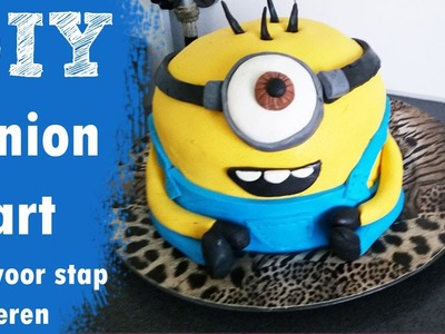 DIY MINION CAKE | ONZIN OF ZINNIG | CRAFTMAMA Despicable me