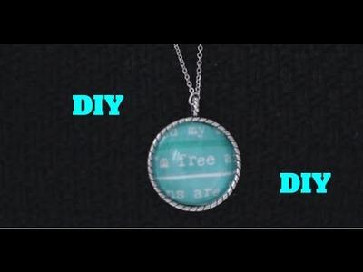 DIY: Tijdschrijftenknipsel voor Kettinghanger & Ring (Simpel!) - DIY Nederlands
