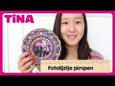 Fotolijstje pimpen door Tina DIY-vlogger Valentine