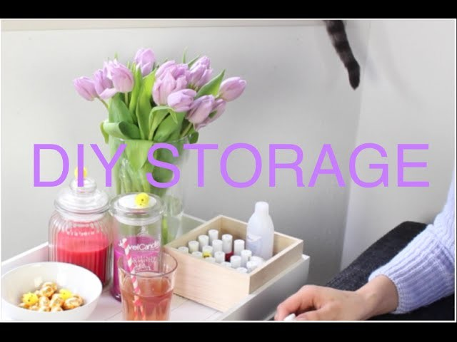Lente DIY Storage | You do need more