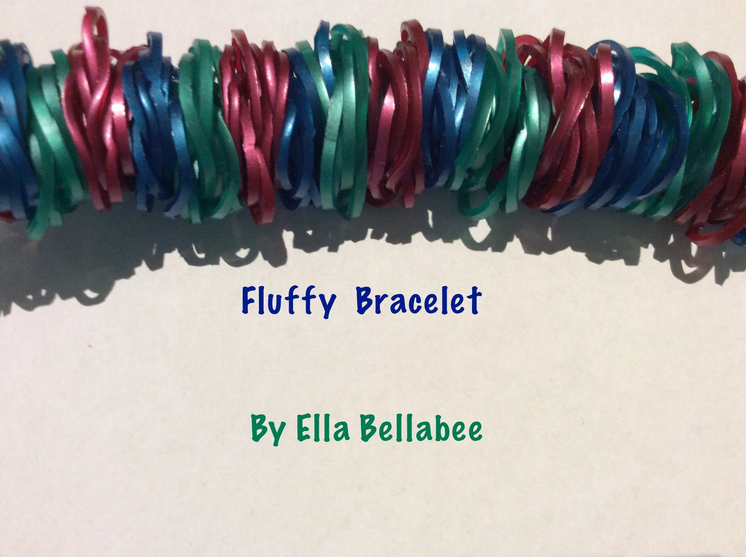 Rainbow Loom Nederlands | Fluffy Bracelet. Fluffy Armband