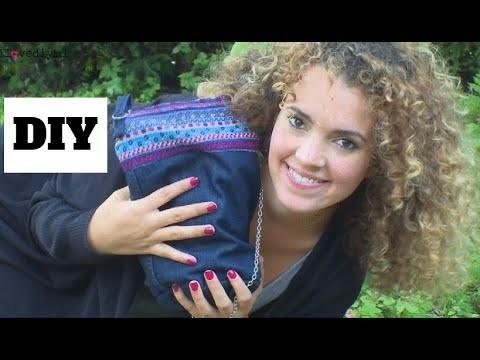 Zelf een tas van een spijkerbroek maken? Zo doe je dat! - DIY Nederlands
