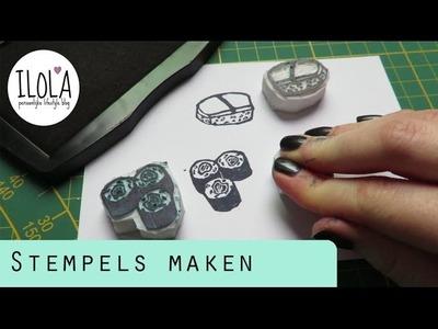 DIY: STEMPELS MAKEN | ILOLAnl