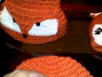 Fox Crochet Hat|| Gorra de Crochet de Zorro