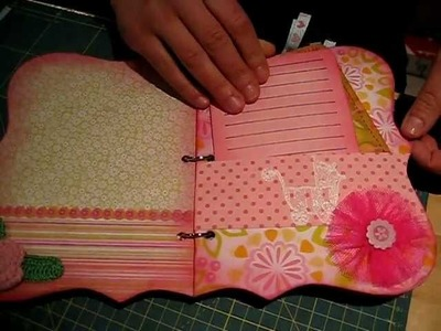 Scrapbooking -Album da Francisca