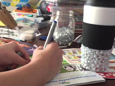 DIY BLING CUP
