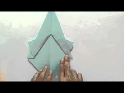 Hoe maak je een spook maken - origami spook - paper spook - DIY Halloween spook