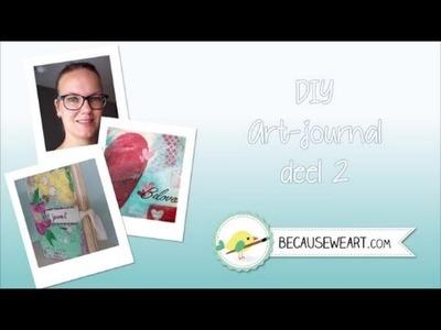 Tutorial DIY Art Journal 2