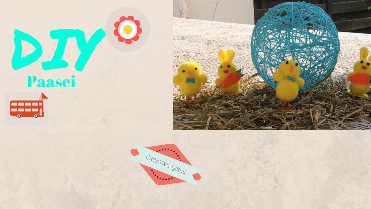 Creative girls - DIY Paasei
