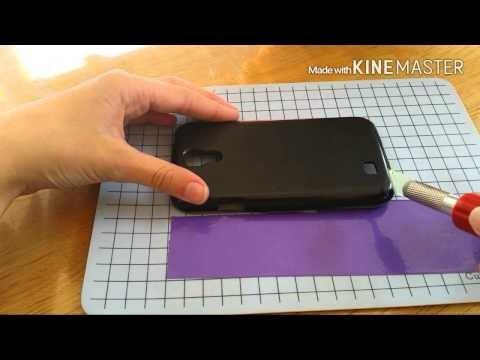 Diy telefoon hoesje pimpen met ductape.washi tape