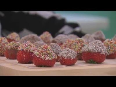 Jill - DIY: Aardbeienbonbons maken!
