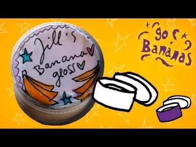 Jill - DIY Go Bananas: maak banana gloss