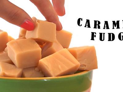 Caramel  fudge - Bakken met Bo