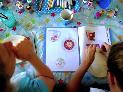 Deel Je Passie: DIY servies schilderen