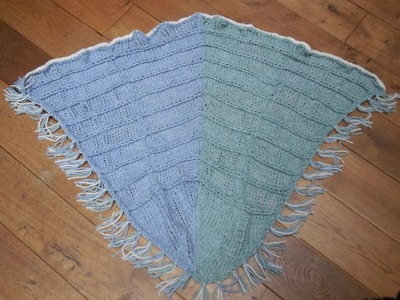 Tutorial breiring: omslagdoek Deel 1. knitting loom scarf