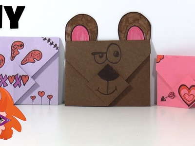 DIY - zelf Enveloppen maken van papier