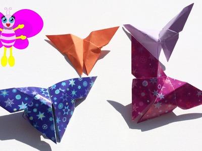 FUN: Origami vlinder - vlinders vouwen van papier