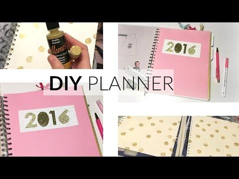 DIY Planner ♥ Kate spade inspired ♥ Hema notitieboek tot planner