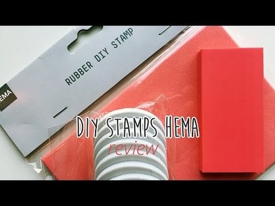 HEMA rubber diy stamps