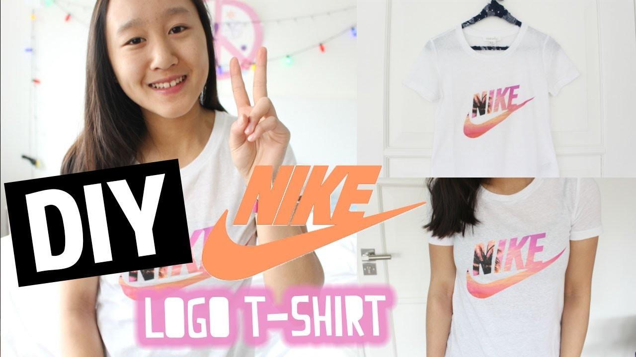DIY Nike logo T-Shirt