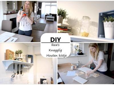Ikea's houten kistje Knagglig - DIY