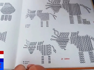 DIY: figuren maken van parels en draad (2D) - basiscursus